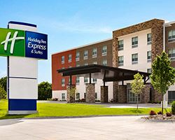 Holiday Inn Express Pittston Exterior Image