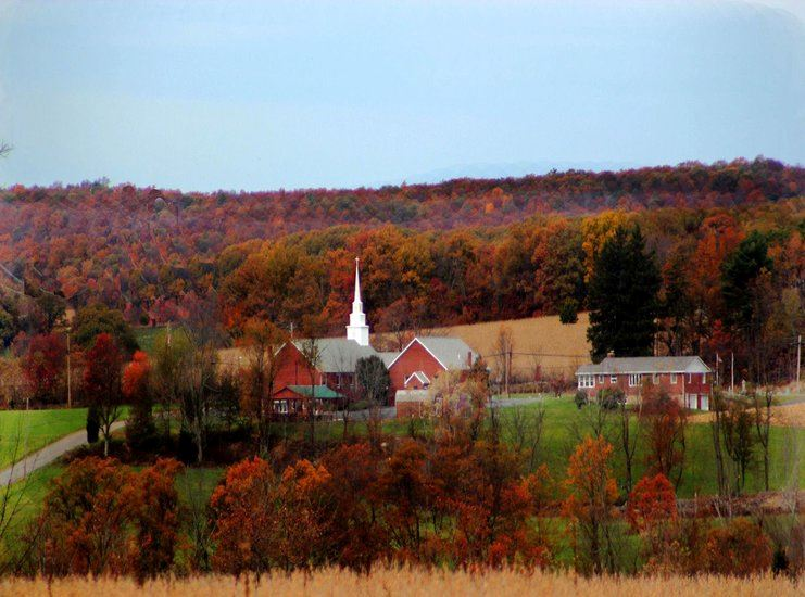 Fall in Luzerne County