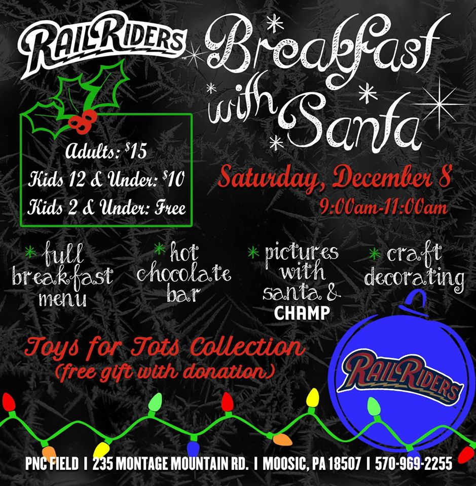 railriders breakfast with santa