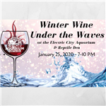 winter wine under the waves