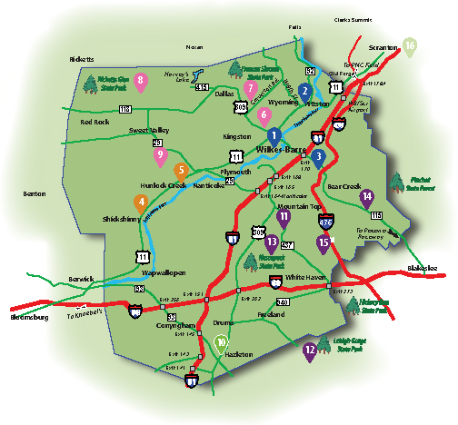 Hiking-Biking Map 05-14-2020