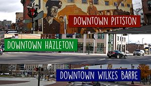 Downtown Areas Signs