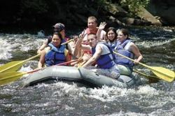 Group of People Enjoying Whitewater Challengers