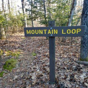 Mountain Loop Sign Opens in new window